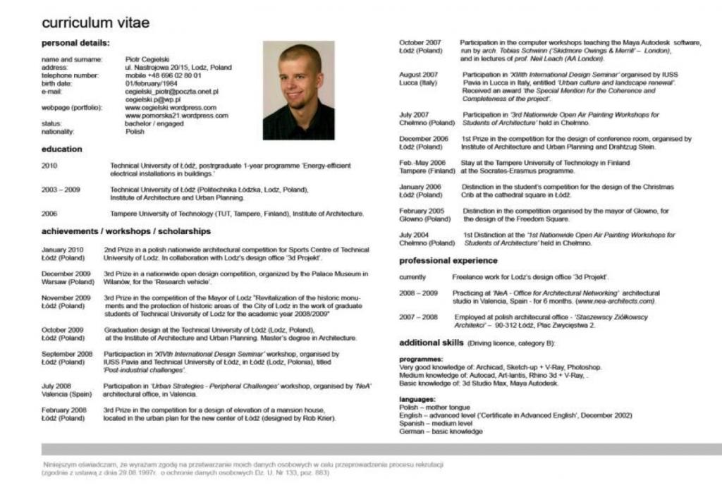 Voorbeeld goede CV